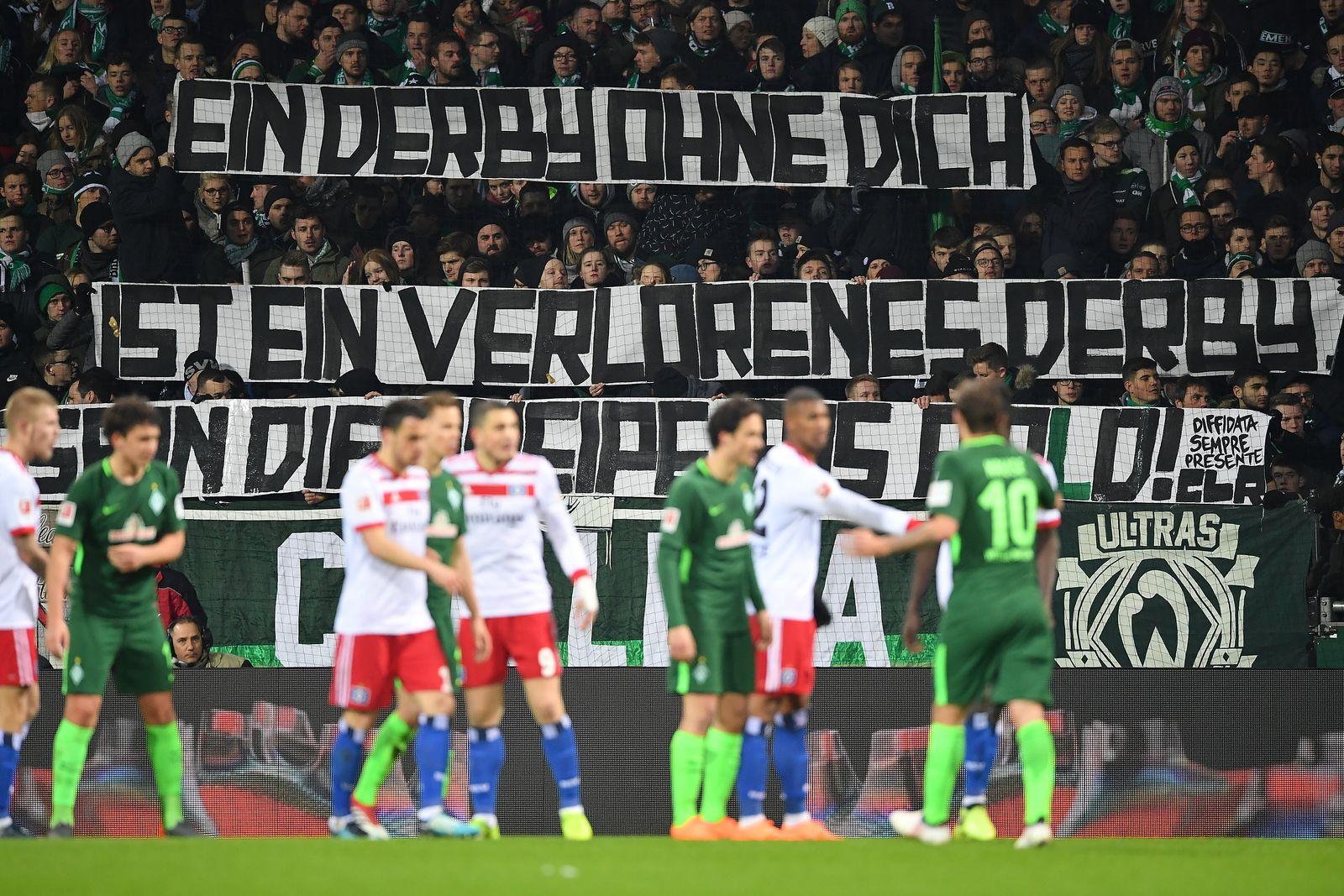 Werder Bremen HSV Fans