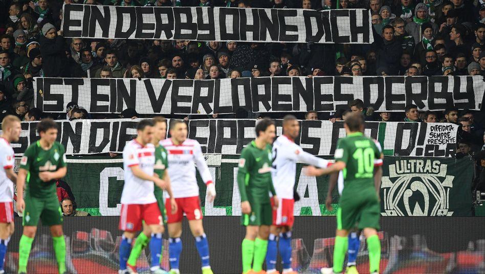 Nordderby Werder Bremen gegen HSV