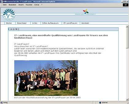 """Initiative IT-Landfrauen: Internet-Multiplikatoren für das """"platte Land"""""""