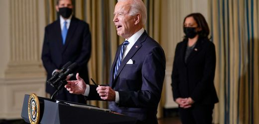 USA: Joe Biden stoppt neue Öl- und Gasbohrungen auf US-Land