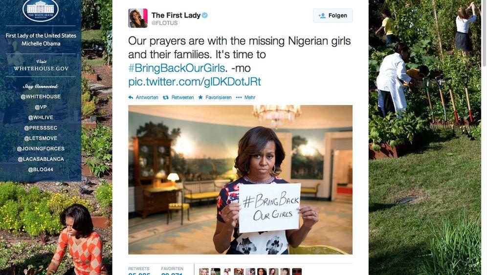 """Protest in Nigeria: """"Bringt unsere Mädchen zurück"""""""