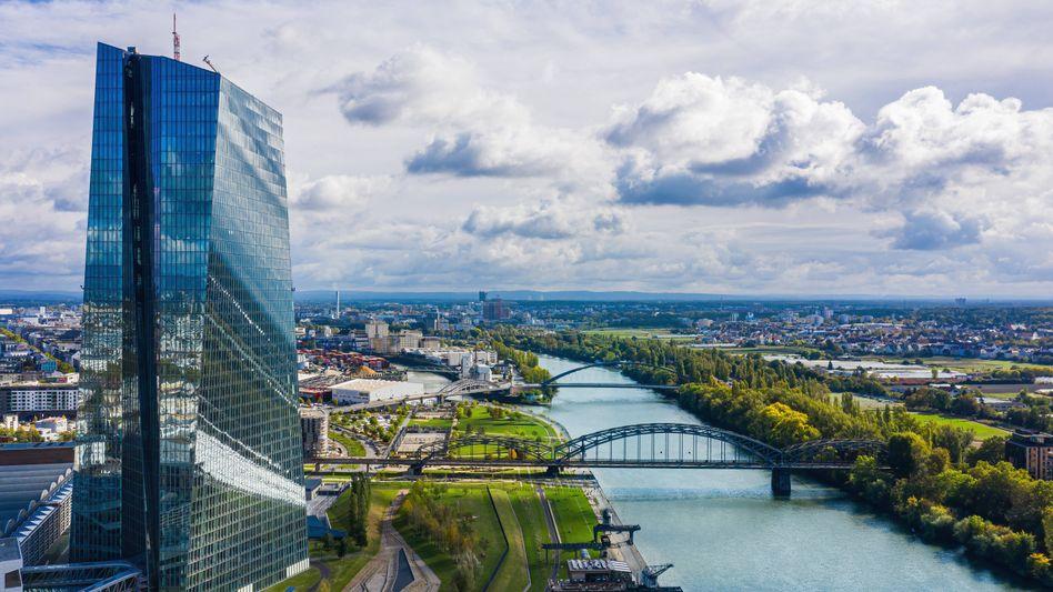 EZB-Zentrale in Frankfurt: Wie grün darf es sein?