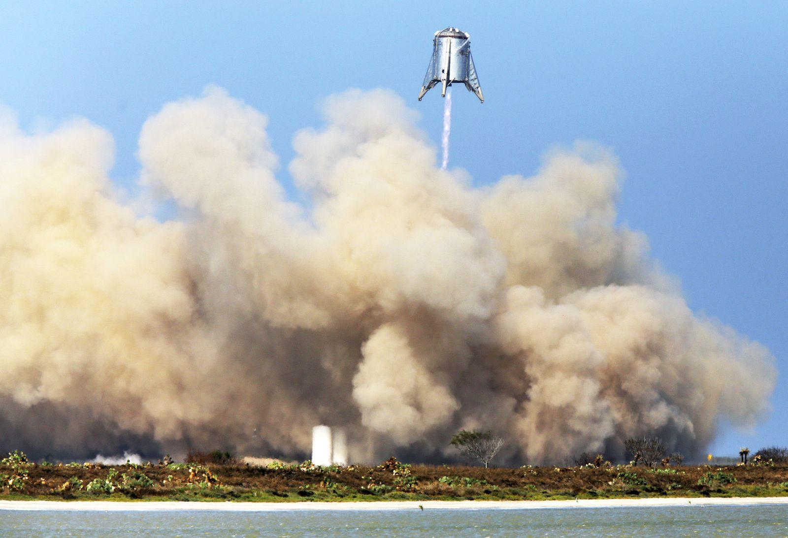 SpaceX testet erfolgreich Prototyp für Mars-Rakete