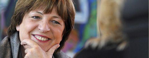 """Ministerin Schmidt: """"Sie ist im Team"""""""