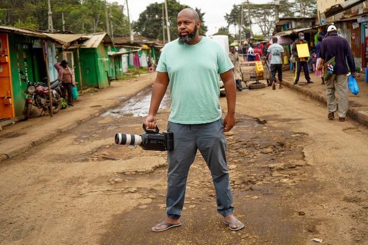 »Besser, wir erzählen die Geschichten selbst«, findet Filmemacher Joshua Kisamwa