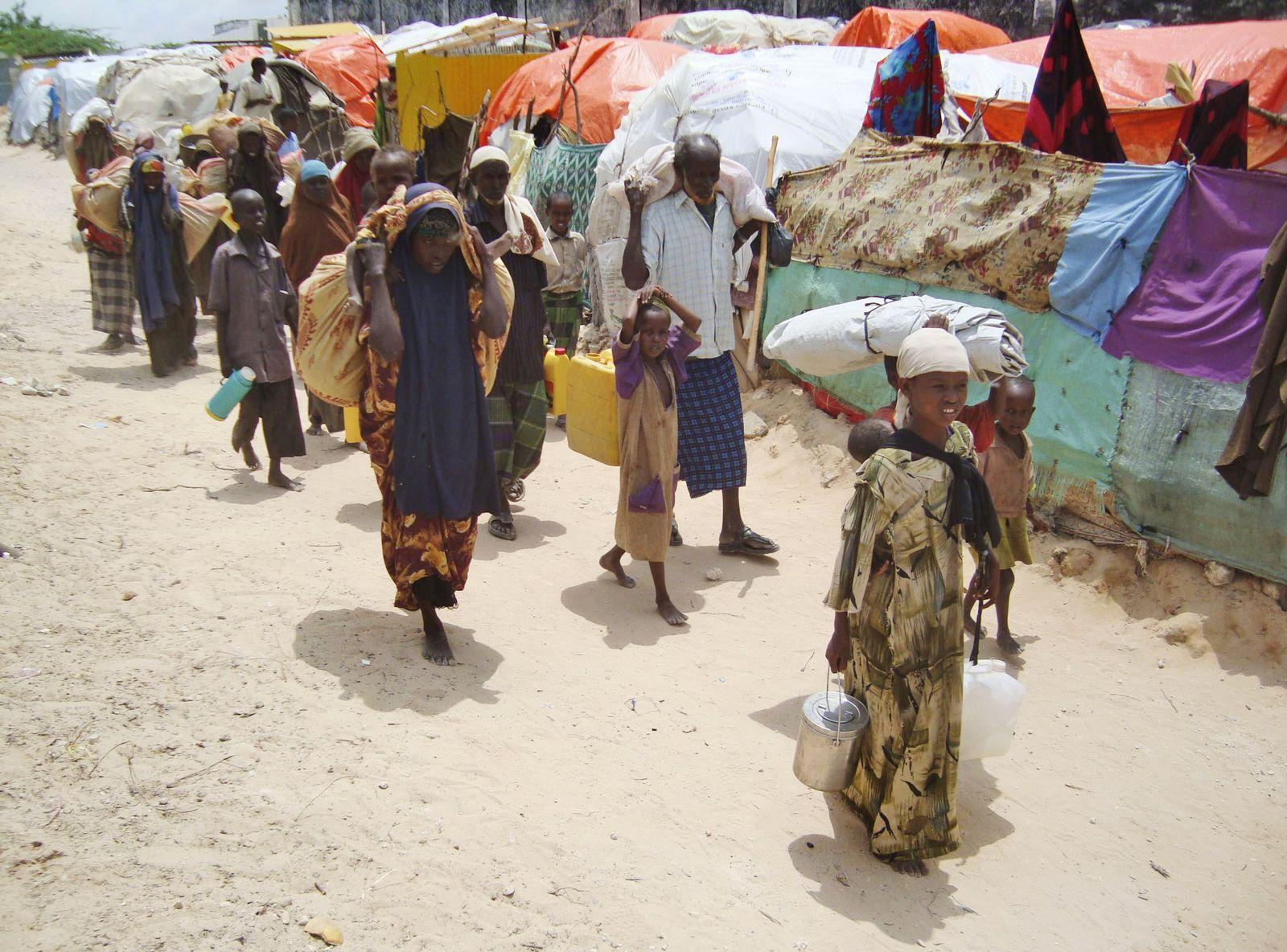 Somalia lager hunger