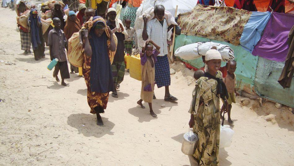 Flüchtlinge im Süden Somalias: Weitere Region von Hunger betroffen