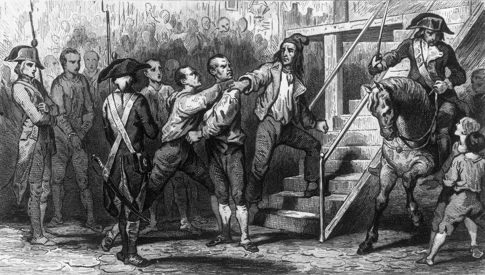 Französische Revolution / Guillotine / Danton