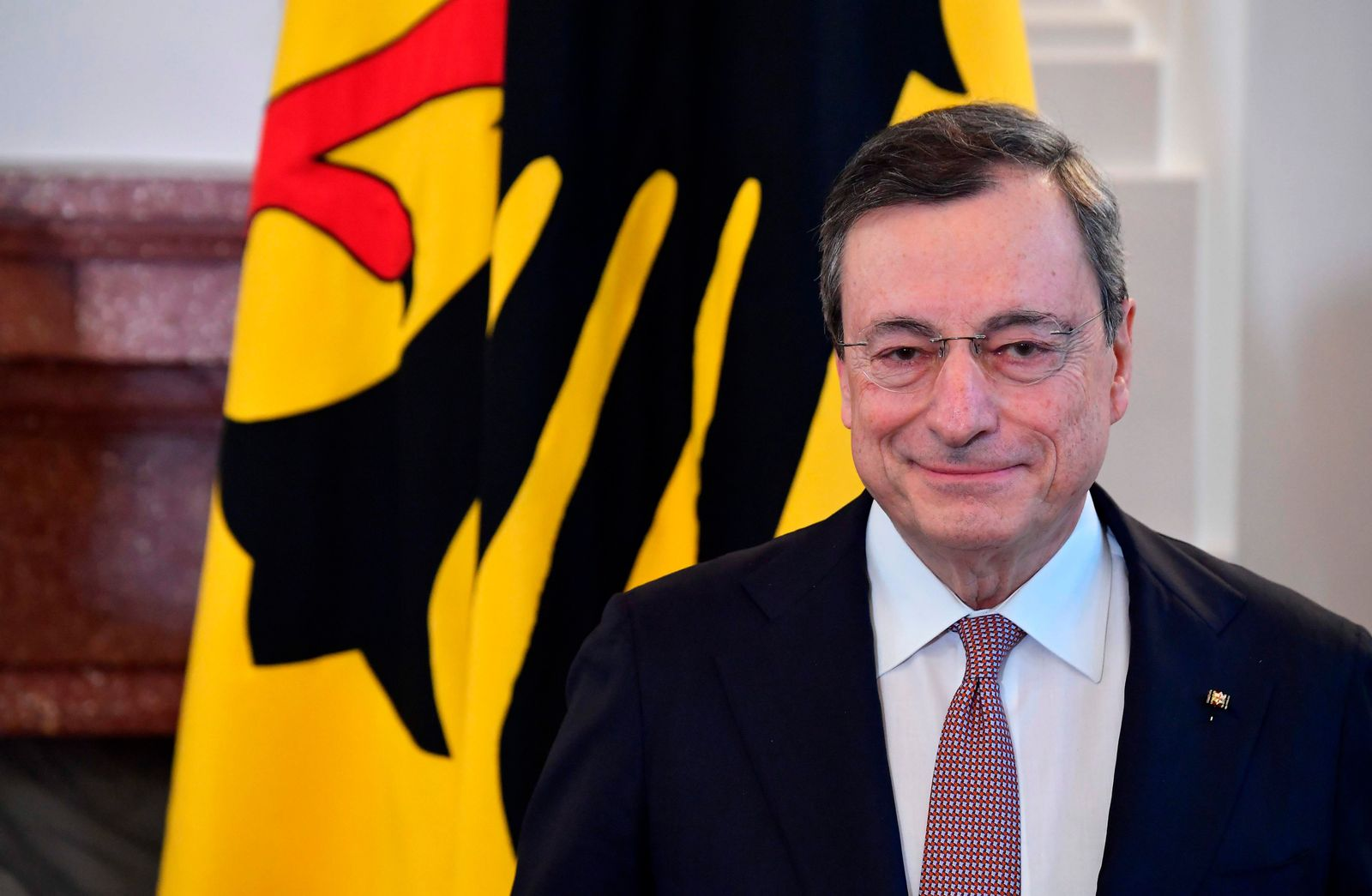 GERMANY-ECB-BANKING-DRAGHI-AWARD