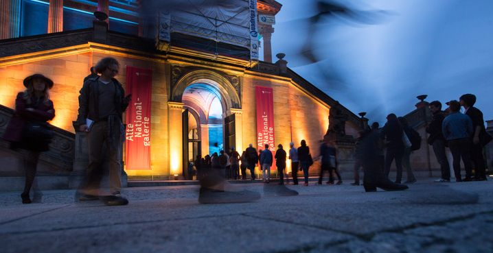 Die Alte Nationalgalerie (Archivbild) soll nach Medienberichten auch geöffnet werden