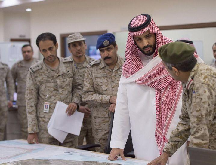 Verteidigungsminister Mohammad bin Salman: Saudis demonstrieren Stärke