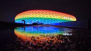 Uefa verbietet Regenbogen-Arena