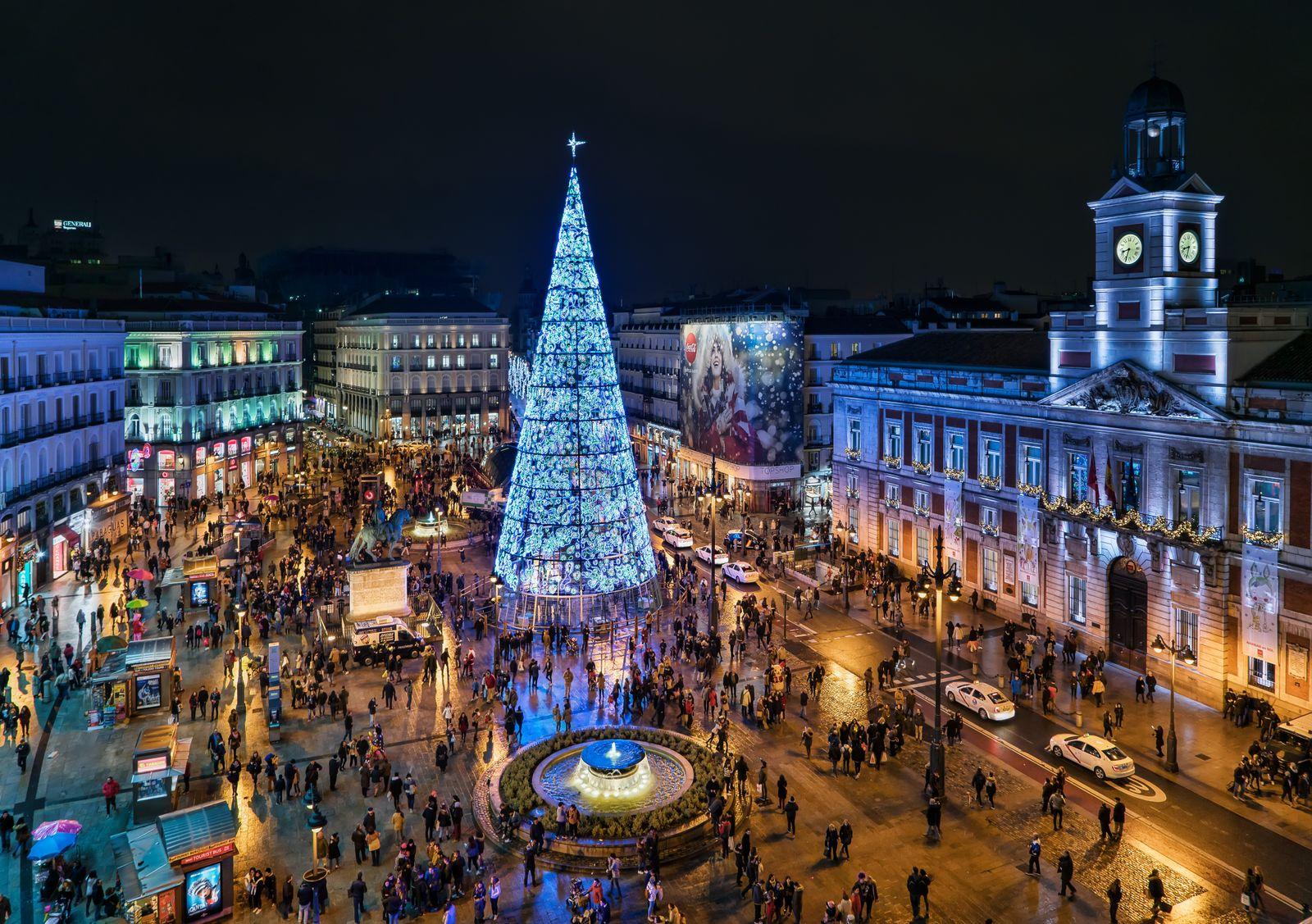EINMALIGE VERWENDUNG Silvesterbräuche/ Madrid