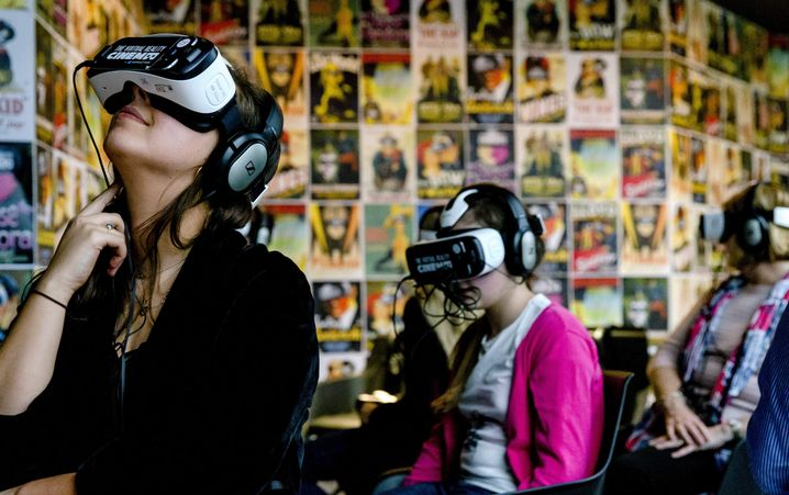 VR-Kino in Amsterdam