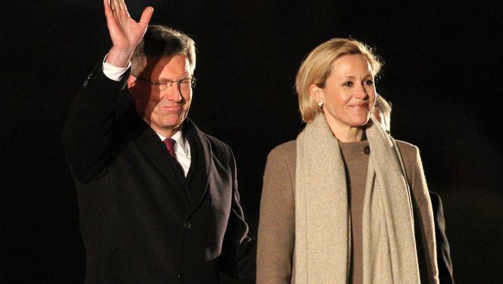 Abschied des Ex-Präsidenten: Zapfenstreich für Wulff