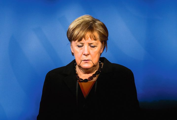 Chancellor Angela Merkel's authority has been severely eroded.
