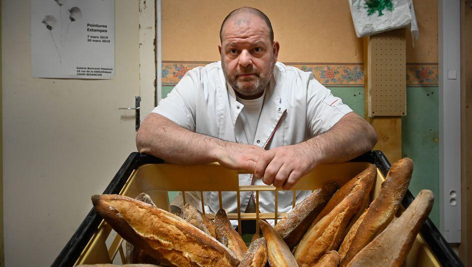 Bäcker Stéphane Ravacley: »Ich werde nicht aufhören, bis ich etwas erreicht habe.«