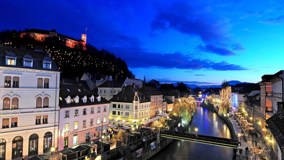 Ljubljana by night: Has the sun set on Slovenia's economy?