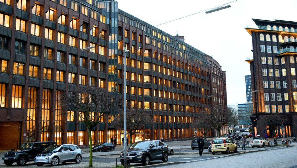 Bauer-Verlagsgebäude in Hamburg
