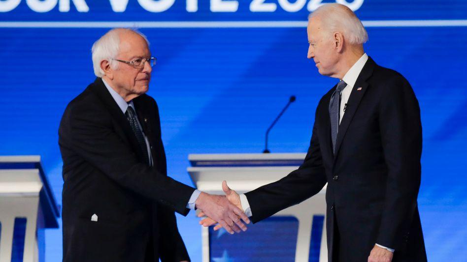 Berne Sanders spricht sich für Joe Biden als US-Präsident aus (Archivbild)