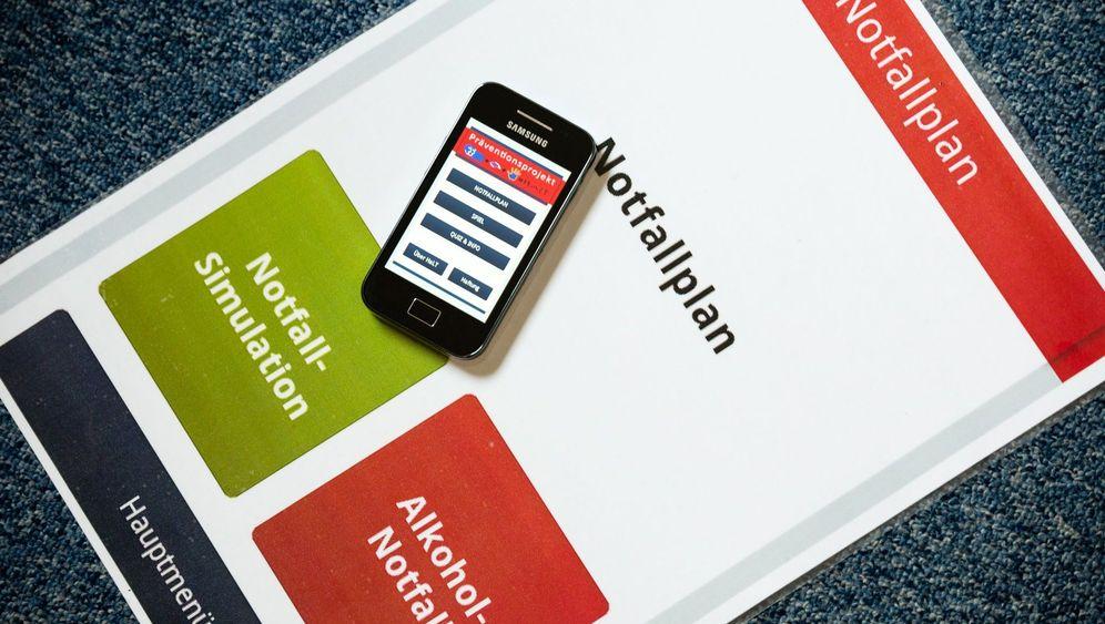 Alkohol-Notfall-App: Hilfe bei der Ersten Hilfe