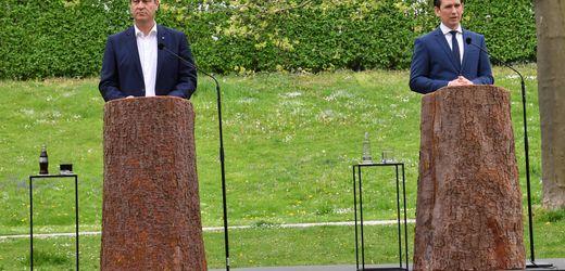 Markus Söder und Sebastian Kurz: Wenn Bäume sprechen könnten
