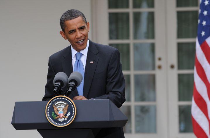 Präsident Obama (am Dienstag): Schwieriger Weg durch den Kongress