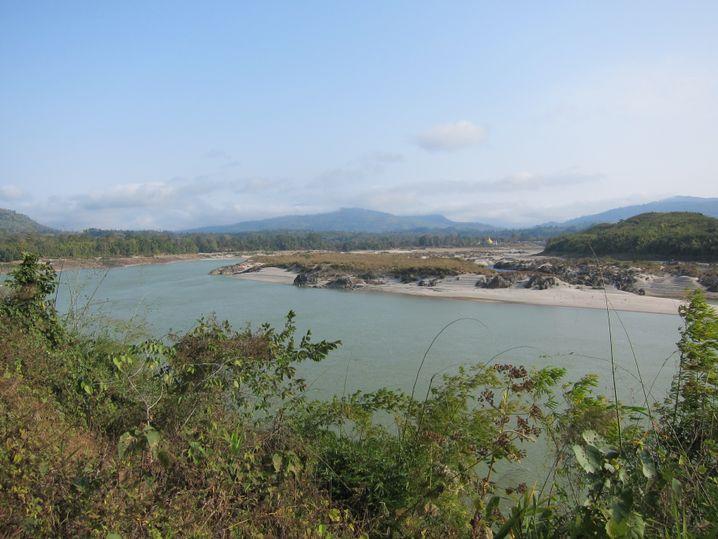 Staudamm in Burma