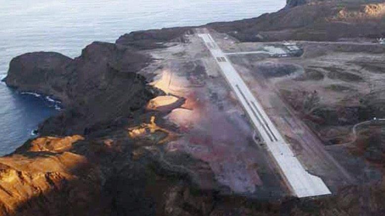 Start- und Landebahn auf St. Helena: Mondlandschaft am Ende der Welt
