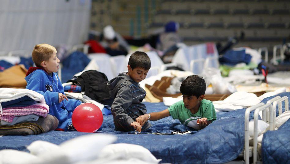 Flüchtlingskinder in Hanau