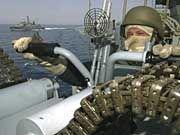 Marinesoldat der Bundeswehr