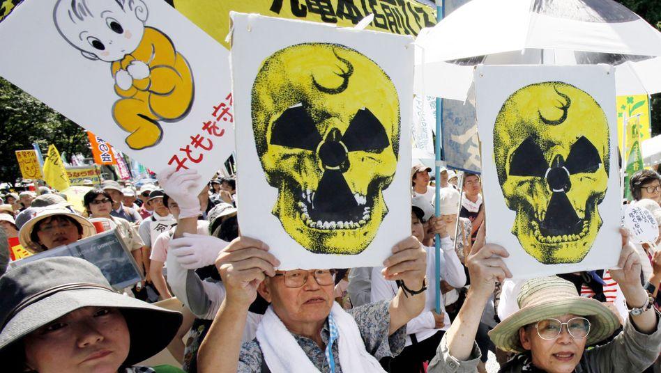 Tokio: Zehntausende Japaner demonstrieren gegen Atomkraft