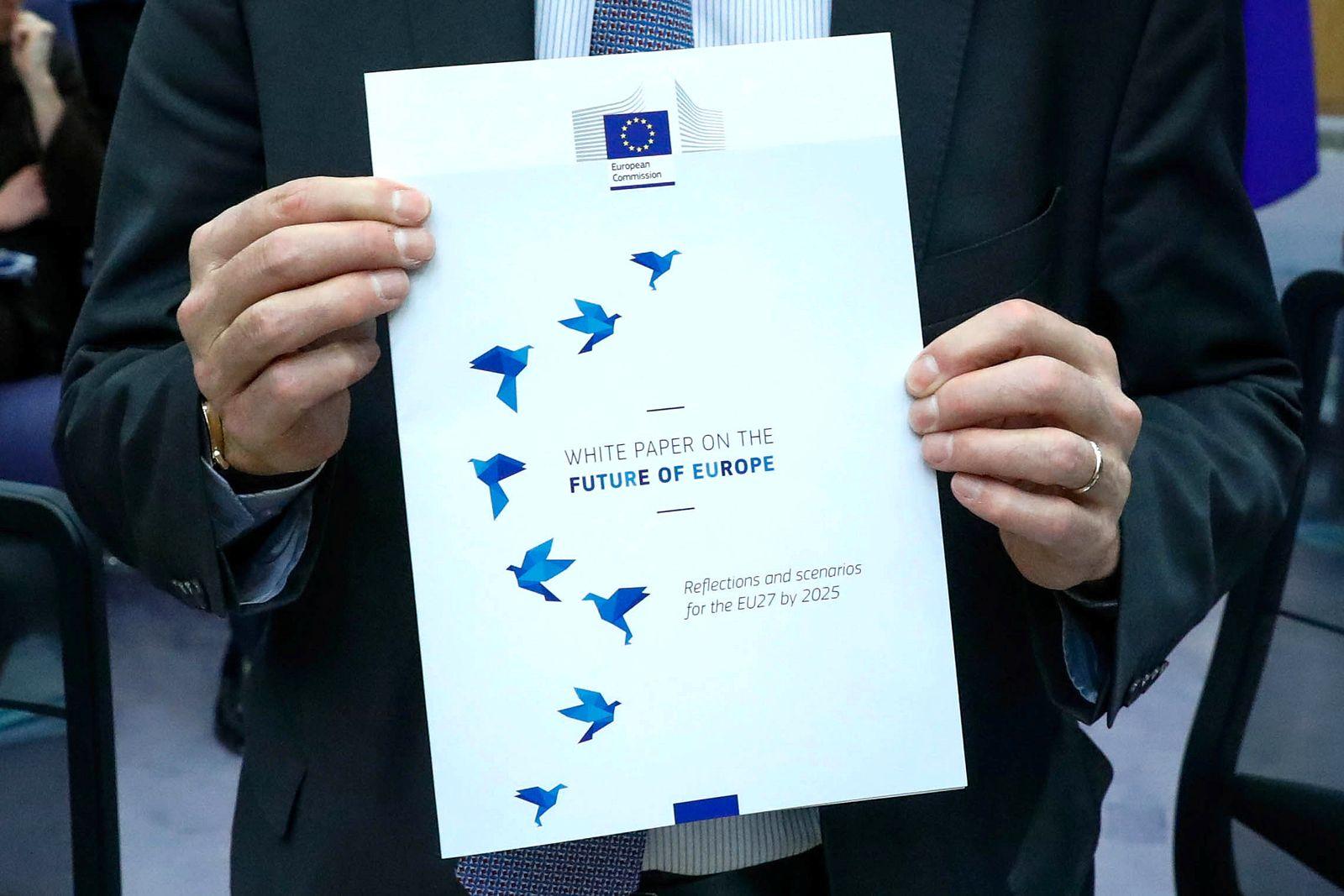 Juncker/EU/Weißbuch