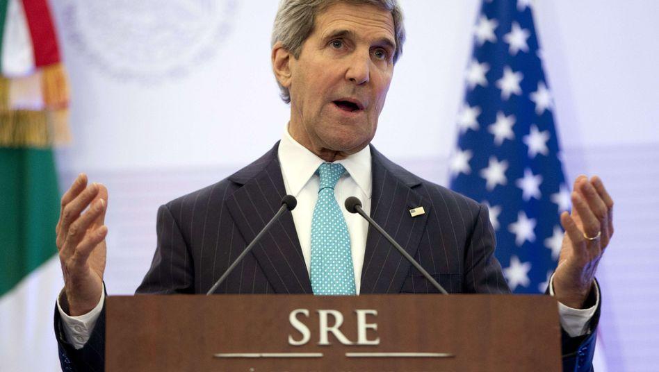 US-Außenminister Kerry: Verkündet Plan für Hilfe im Kampf gegen Terror