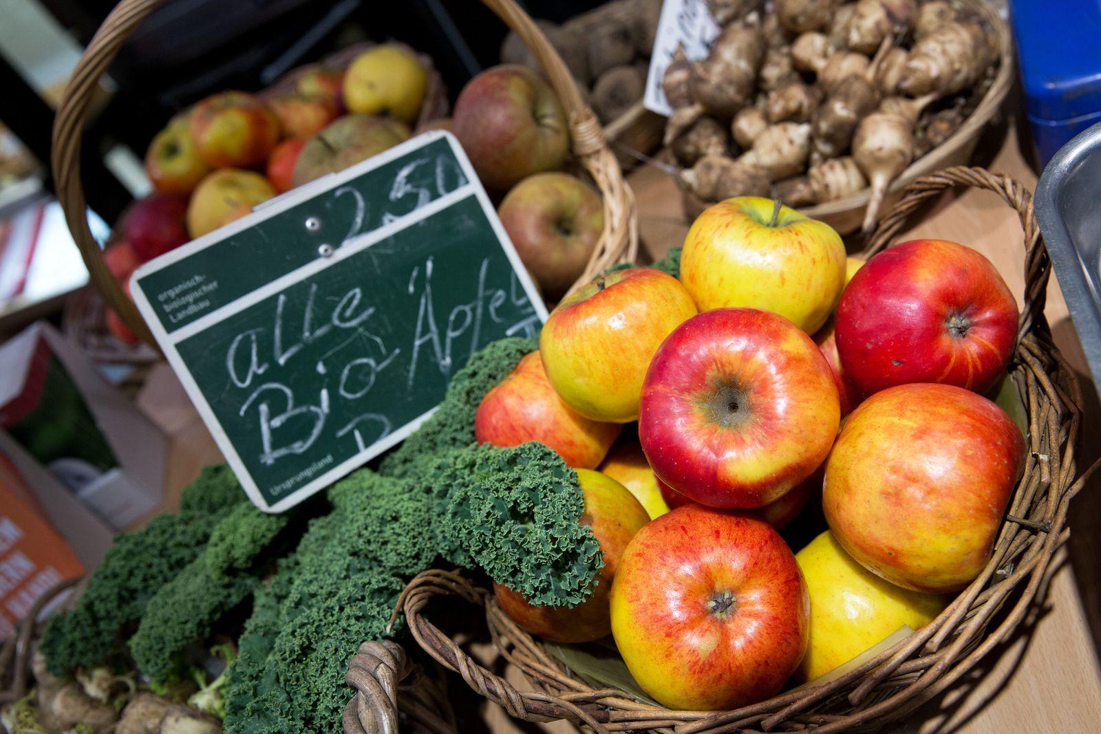 Bio-Äpfel / Bio-Produkte / Bio-Landwirtschaft