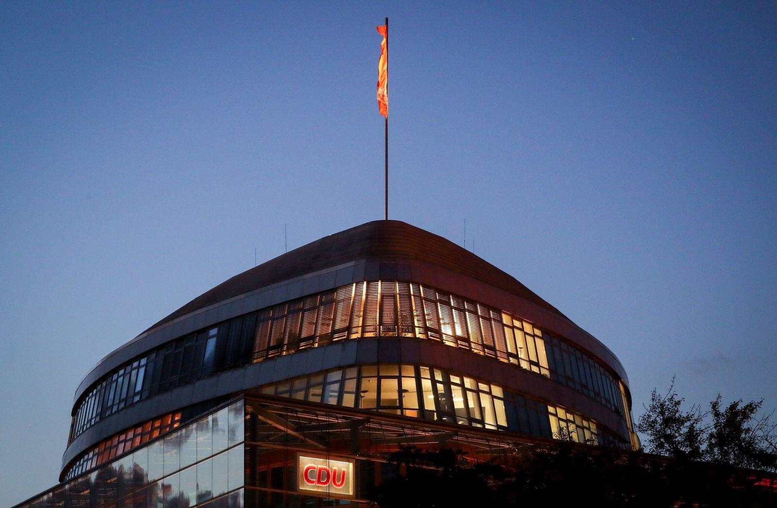 Beratungen CDU und CSU über gemeinsamen Kurs