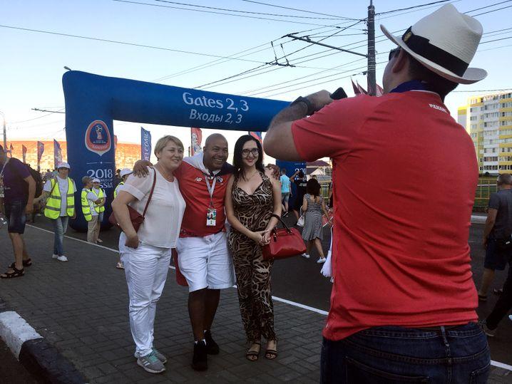Fotos mit Fans aus Panama