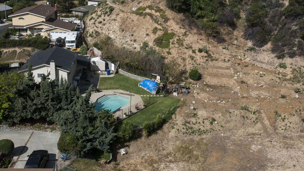Dürre in Kalifornien: Grün nur so lange das Wasser reicht