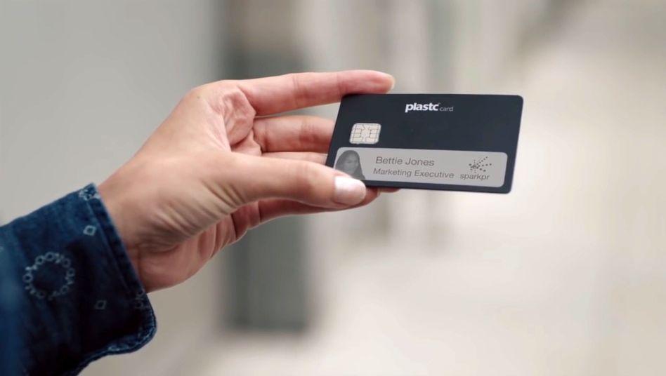 Geplante Allround-Kreditkarte Plastc