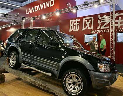 """Geländewagen """"Landwind"""": Billig-Geländewagen aus China"""