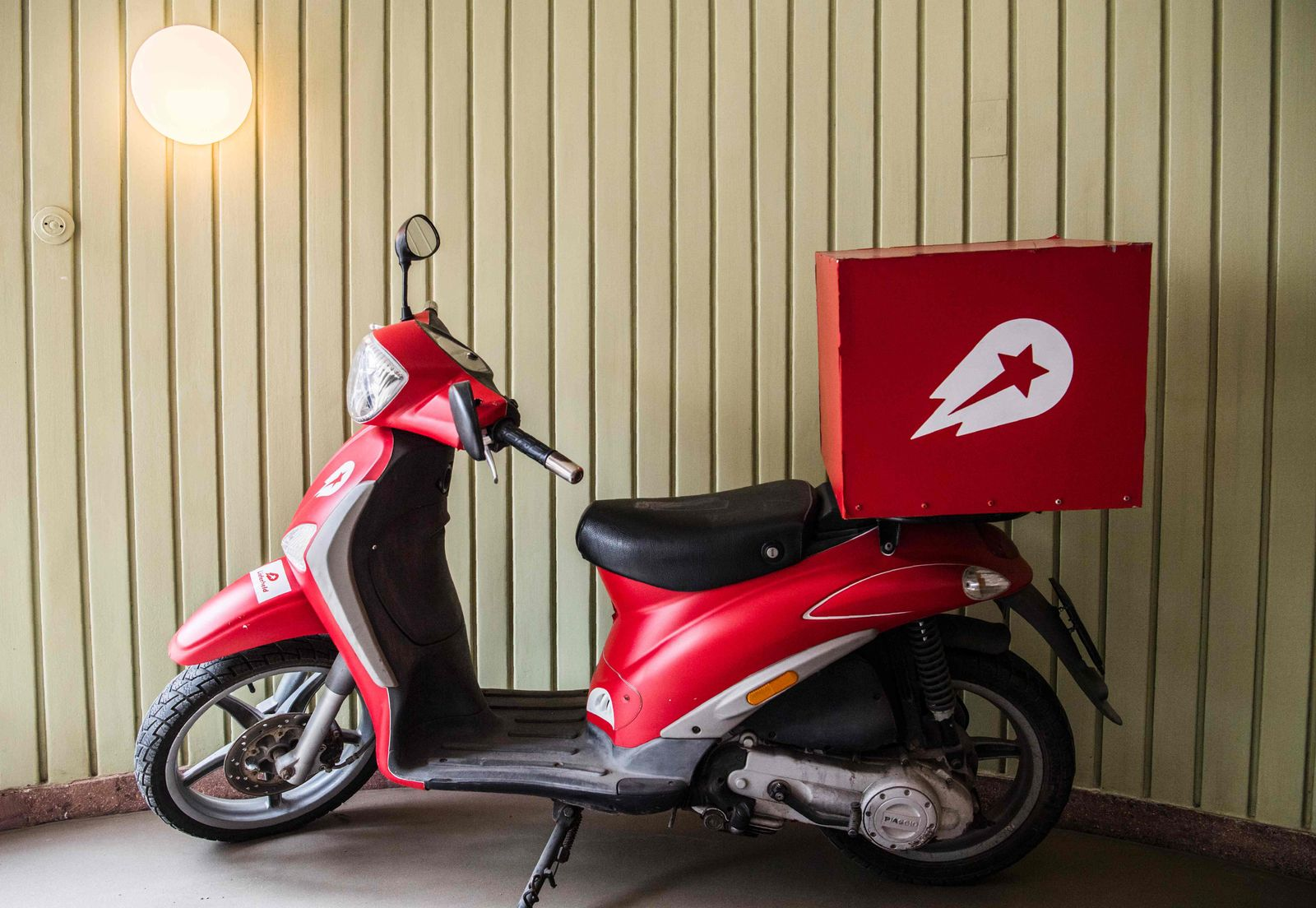 Scooter Delivery Hero