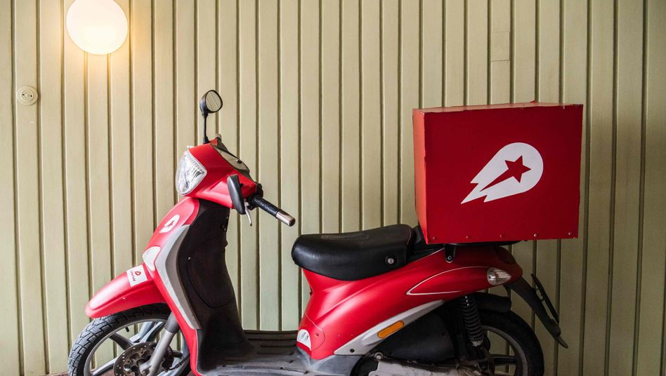 Lieferroller von Delivery Hero (Archivfoto)