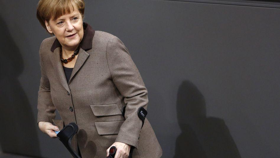 Bundeskanzlerin Merkel: Fast das gesamte Kabinett reist mit nach Jerusalem