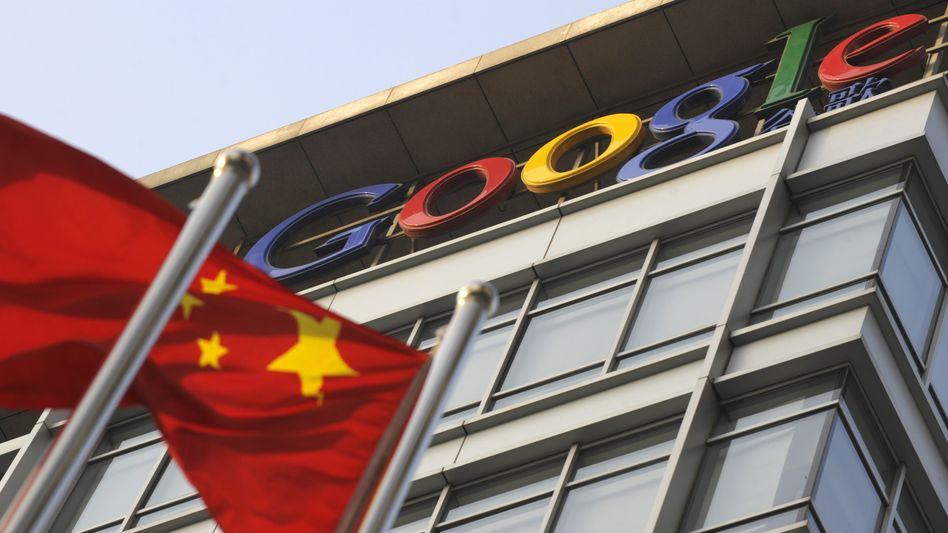 China-Zentrale von Google: Lässt die Regierung das offene Internet zu?