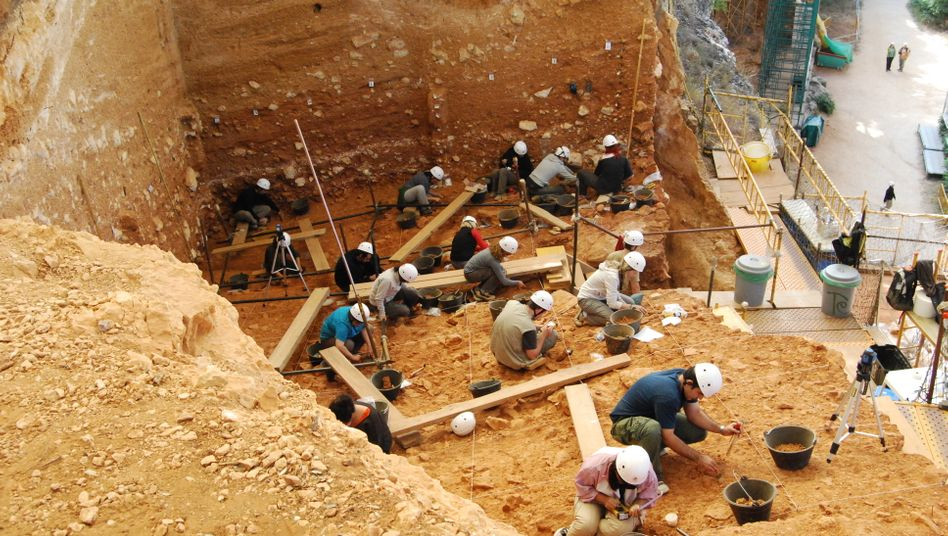 Gran Dolina: In der spanischen Höhle wurden die Überreste von sechs Vertretern des Homo antecessor gefunden