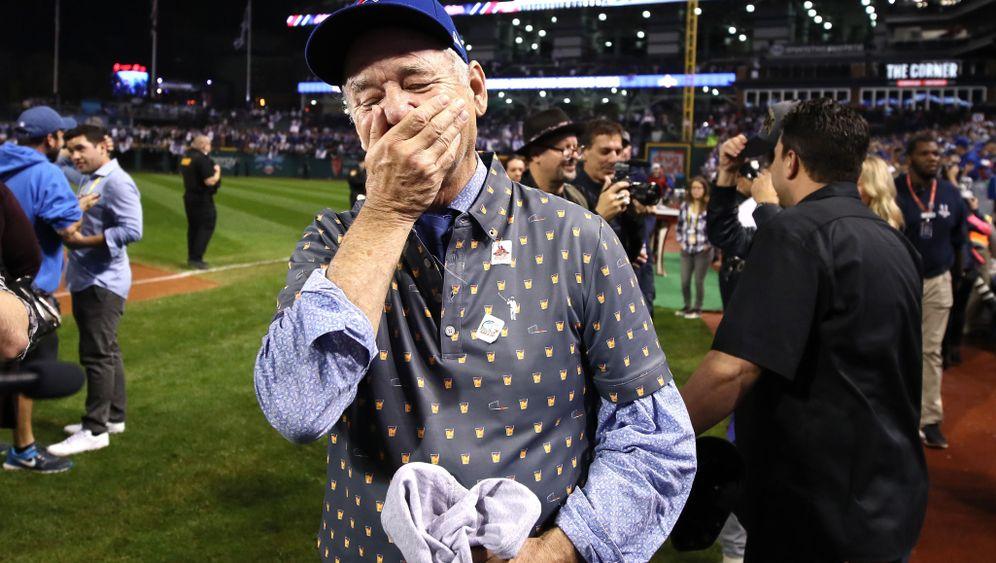 Bill Murray: Tränen nach Sieg der Chicago Cubs