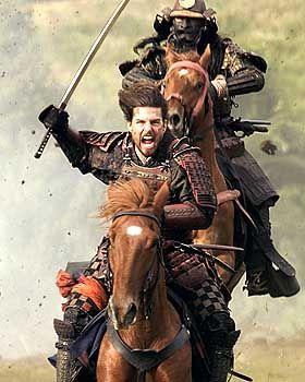 """Tom Cruise im Film """"Der letzte Samurai"""": Attackeeee!!!"""
