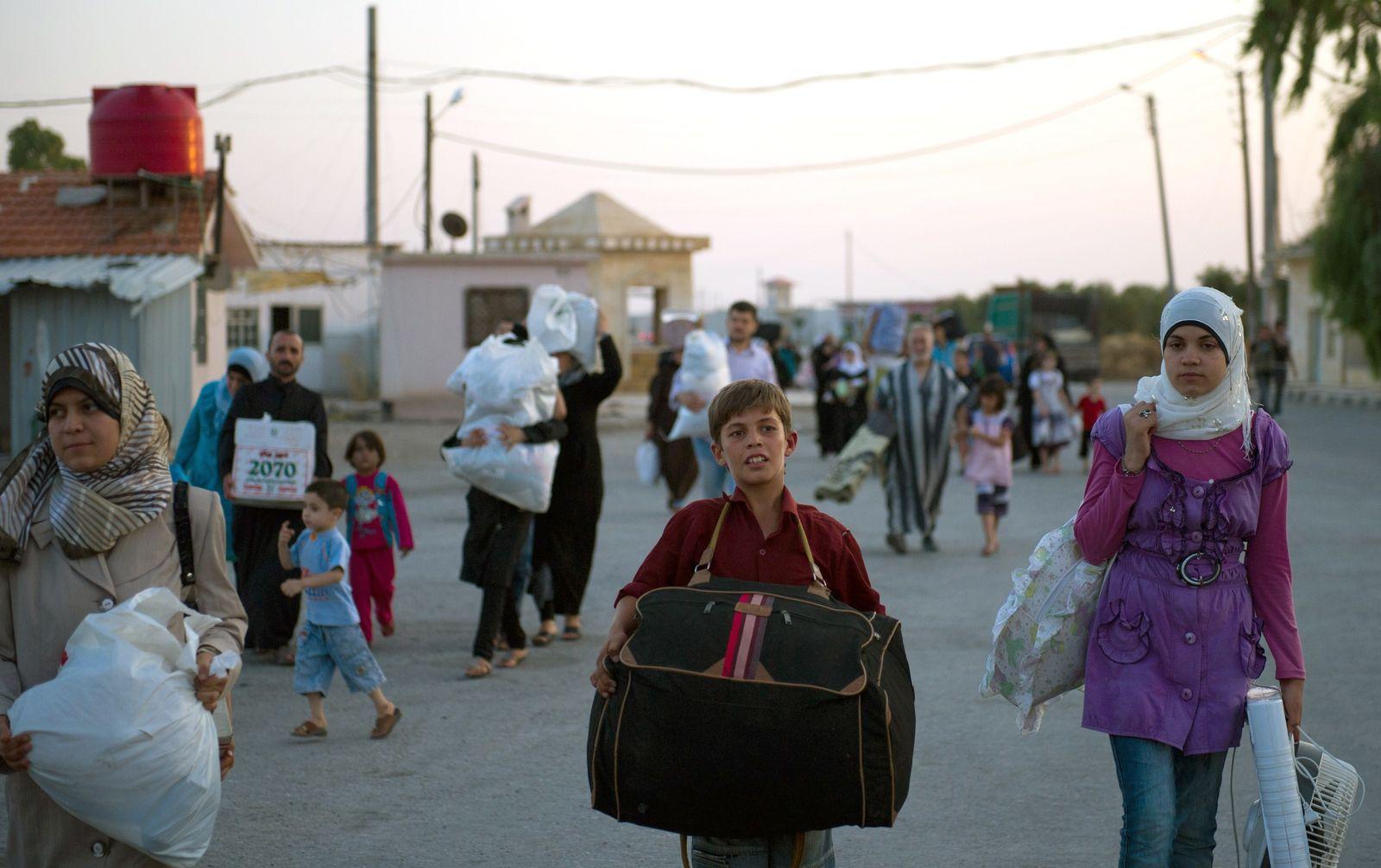 Syrien / Flüchtlinge