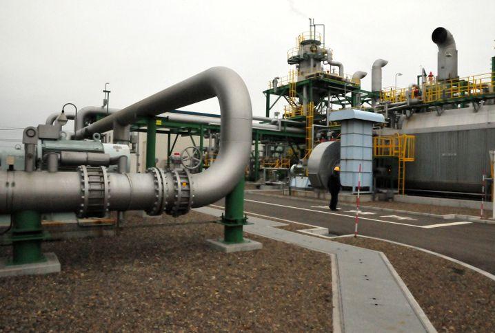 Leitung für den CO2-Transport