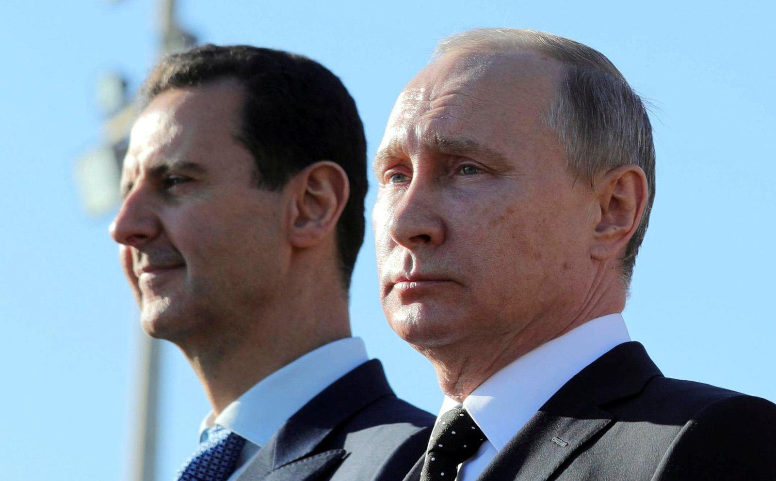 Putin und Assad